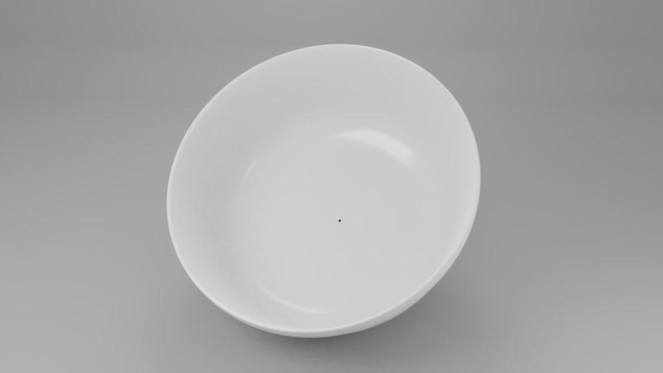 soup bowl model