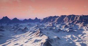3D output landscape model