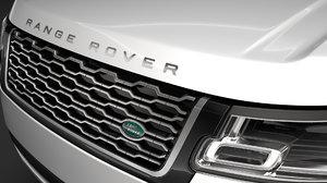 range rover autobiography p400e 3D model