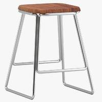 3D orior design stool 02 model