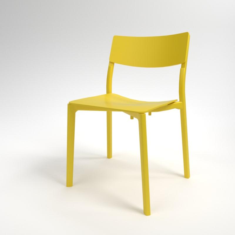 interior ikea yan-inge chair model