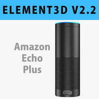 E3D - Amazon Echo Plus model