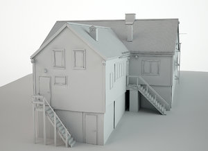 cabin snow model