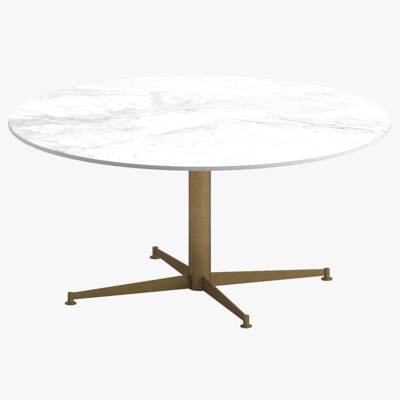 3D marie battaglini arflex coffee table