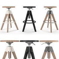 bar arki-stool 3D model