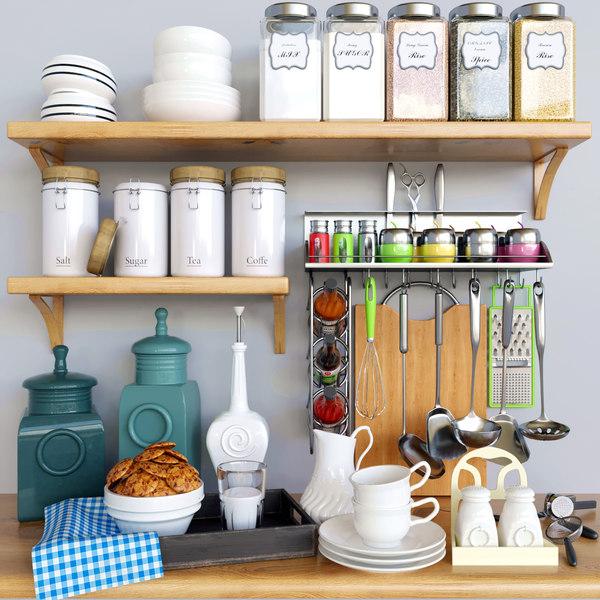 3D decor kitchen model