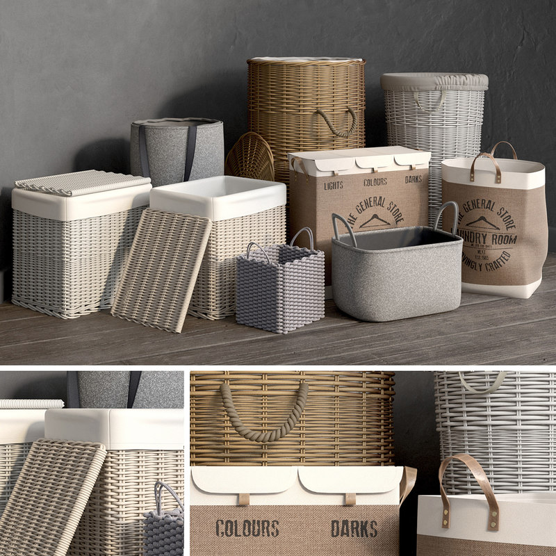 baskets 1 3D model