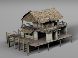 3D house water model