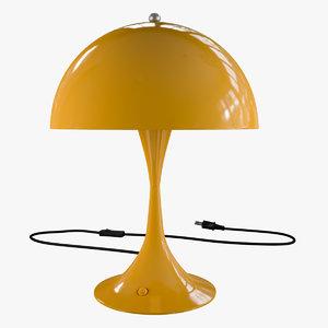 panthella table lamp 3D