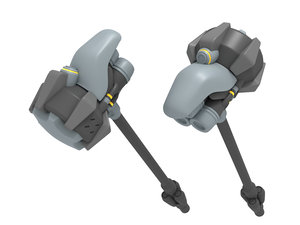 3D reinhardt hammer model