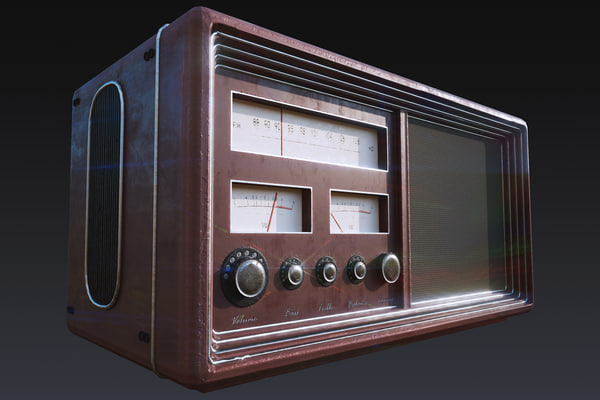 ready old radio model
