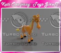 3D model toy