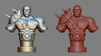 armored orc warrior 3D model