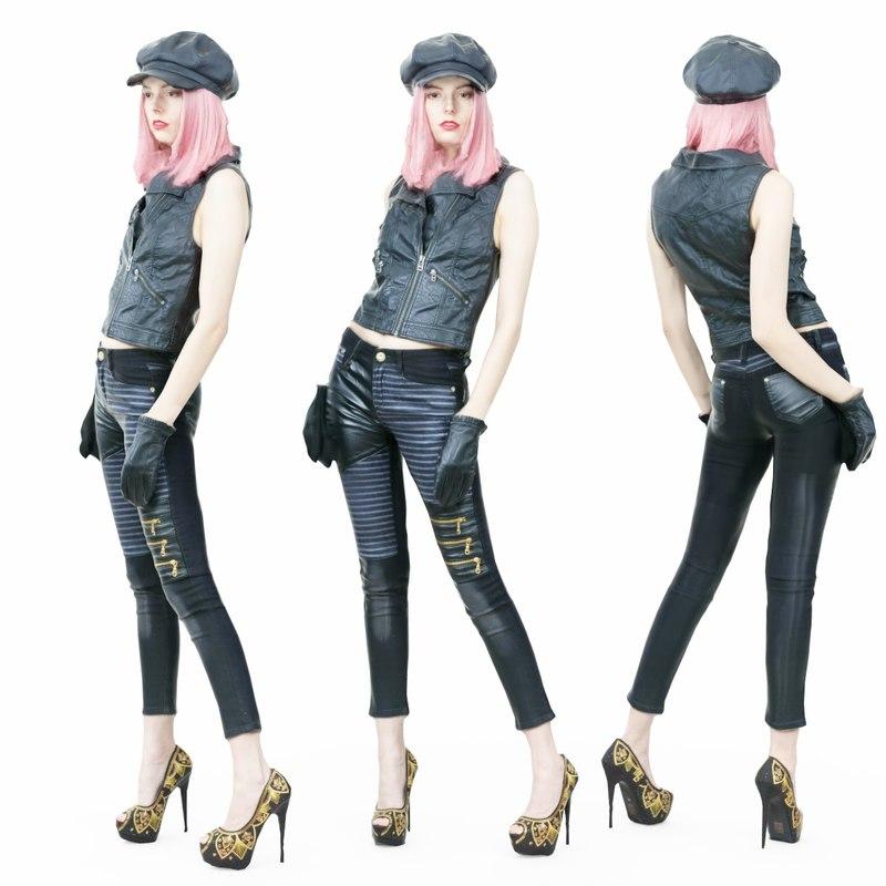 3D girl sexy model