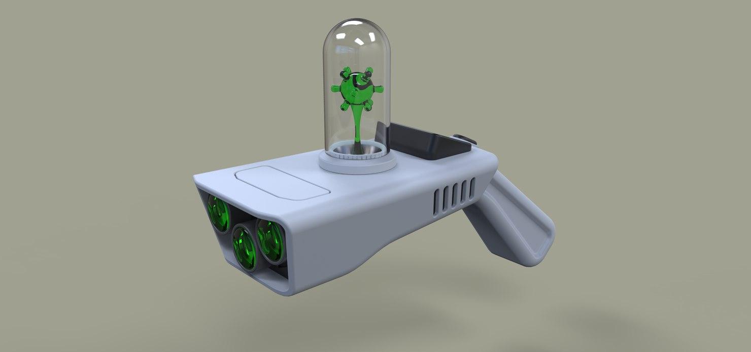 gun portal rick model