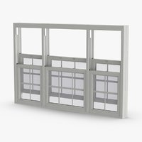 standard-windows---window-6-open 3D model