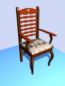 3D silla model