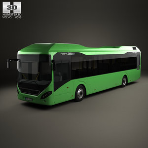 3D 7900 hybrid bus
