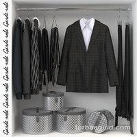 closet wardrobe 3D model