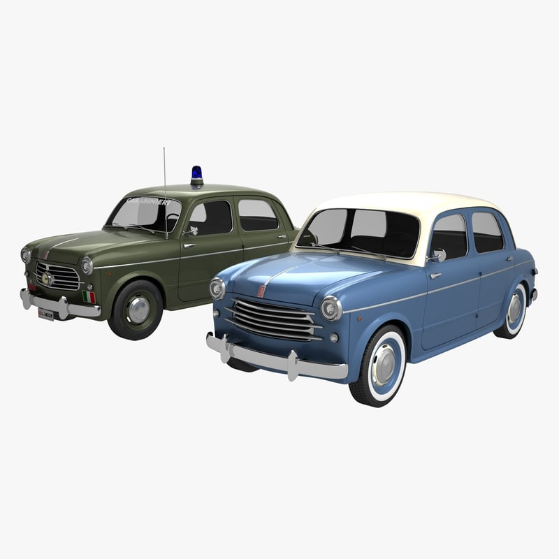 3D fiat 1100-103