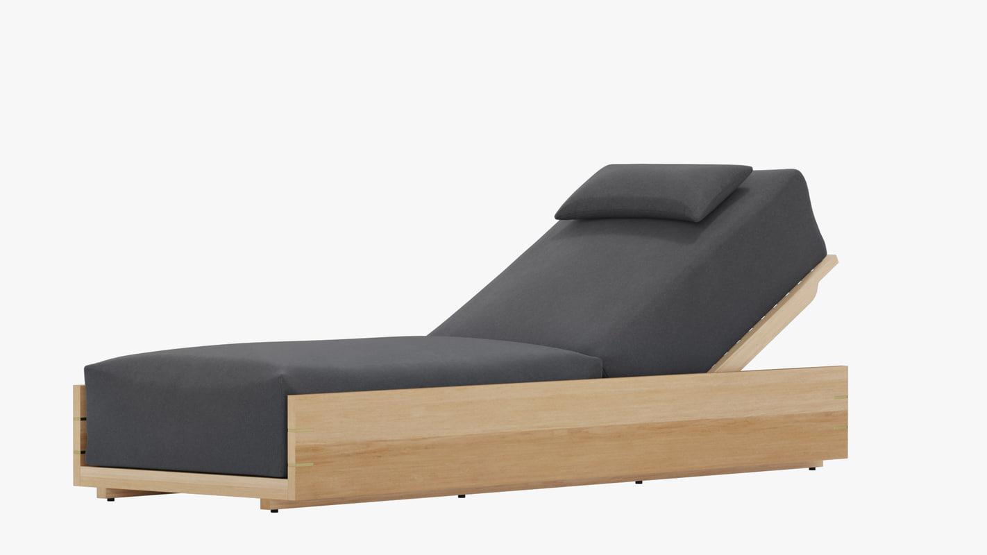 mcqueen chaise 3D model
