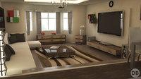 scene apartment 3D