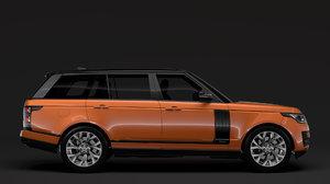3D range rover hse td6