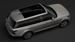 range rover hybrid lwb 3D model