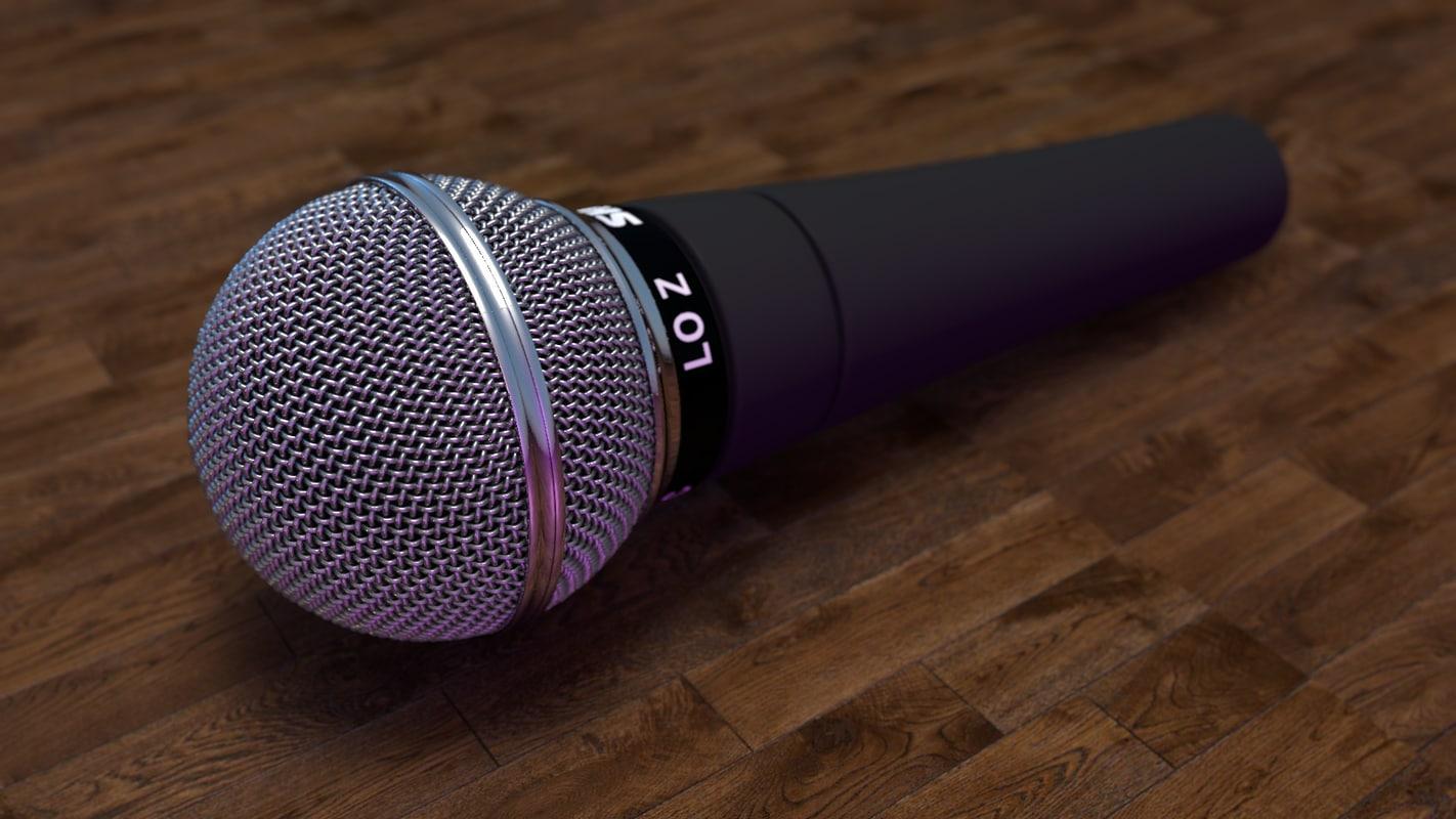 shure sm58 microphone model