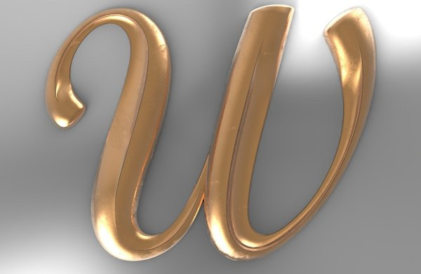letter 3D