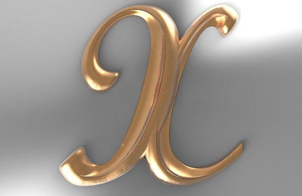 3D decorative milling cnc model