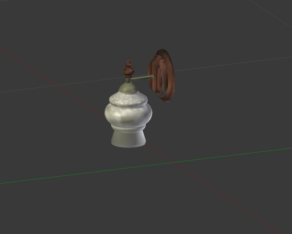 small home lamp 3D