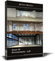 environments - lofts 3D