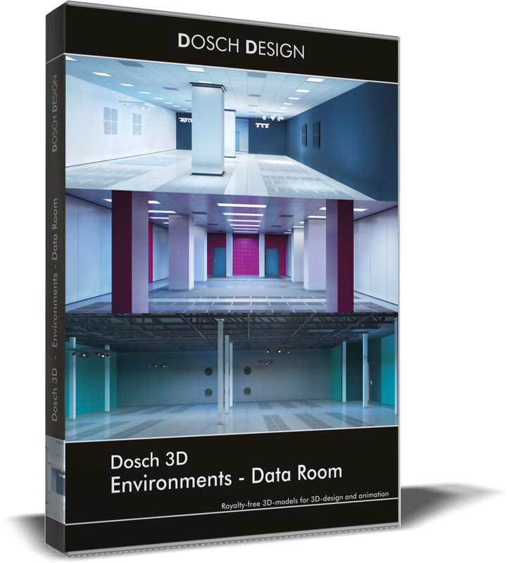 environments - data room 3D model