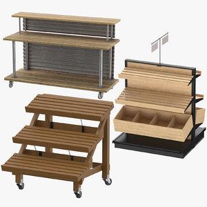 racks - deli bakery 3D