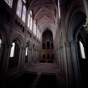 chartres cathedral 3D model
