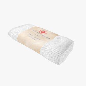 gauze bandage 3D