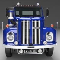 scania 110 semi truck model