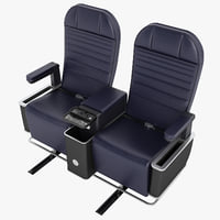 First Class Airplane Chair 01