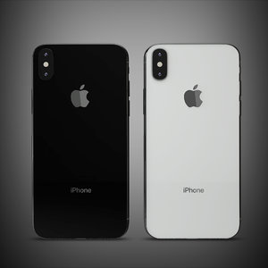apple iphone x 3D