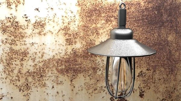 industrial lamp 2 model