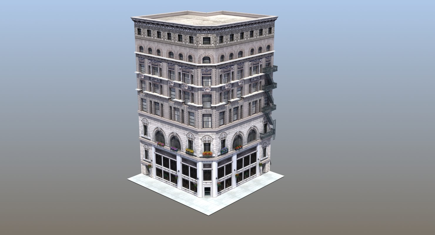 uptown fashion store 3D model