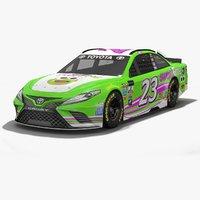 3D model bk racing nascar season