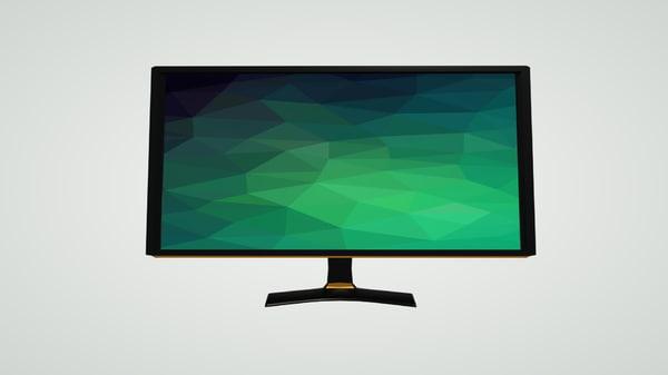 modern monitor 3D model