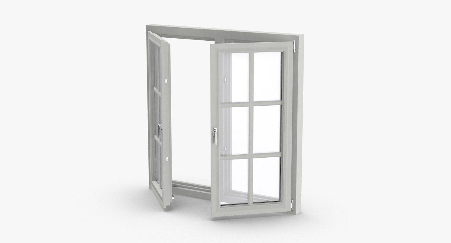 standard-windows---window-4-half-open 3D