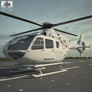 3D eurocopter ec135 ec
