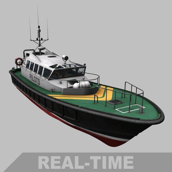 3D interceptor 48 pilot boat