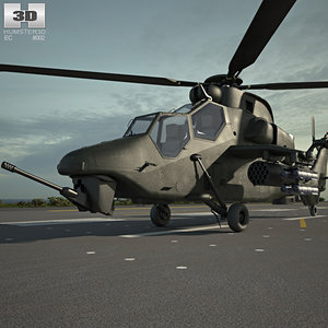3D eurocopter tiger
