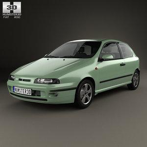 3D fiat bravo 1995 model