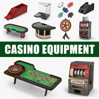 3D casino equipment